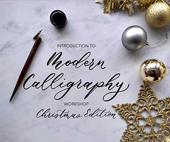 Christmas Calligraphy Workshop at Ballynahinch Castle