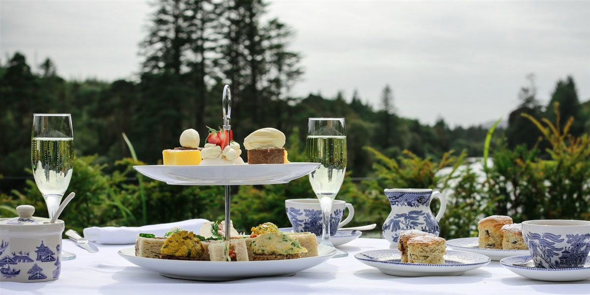 Afternoon Tea at Ballynahinch Castle
