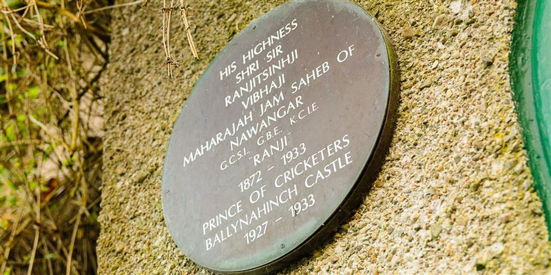 Ballynahinch Plaque to Ranji