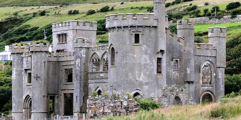 Clifden Castle front