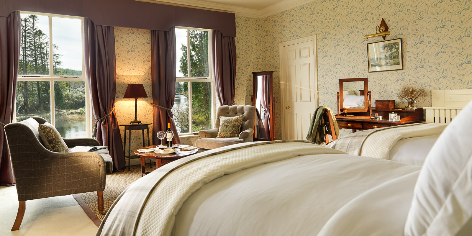 Rooms: Photos Ballynahinch Castle Hotel, Castle Hotels Ireland